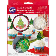 Michaels Cake Decorating Set by Buy The Wilton Cupcake Decorating Kit Christmas Tree At Michaels