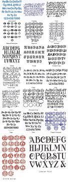 Variedades De Letras Nick