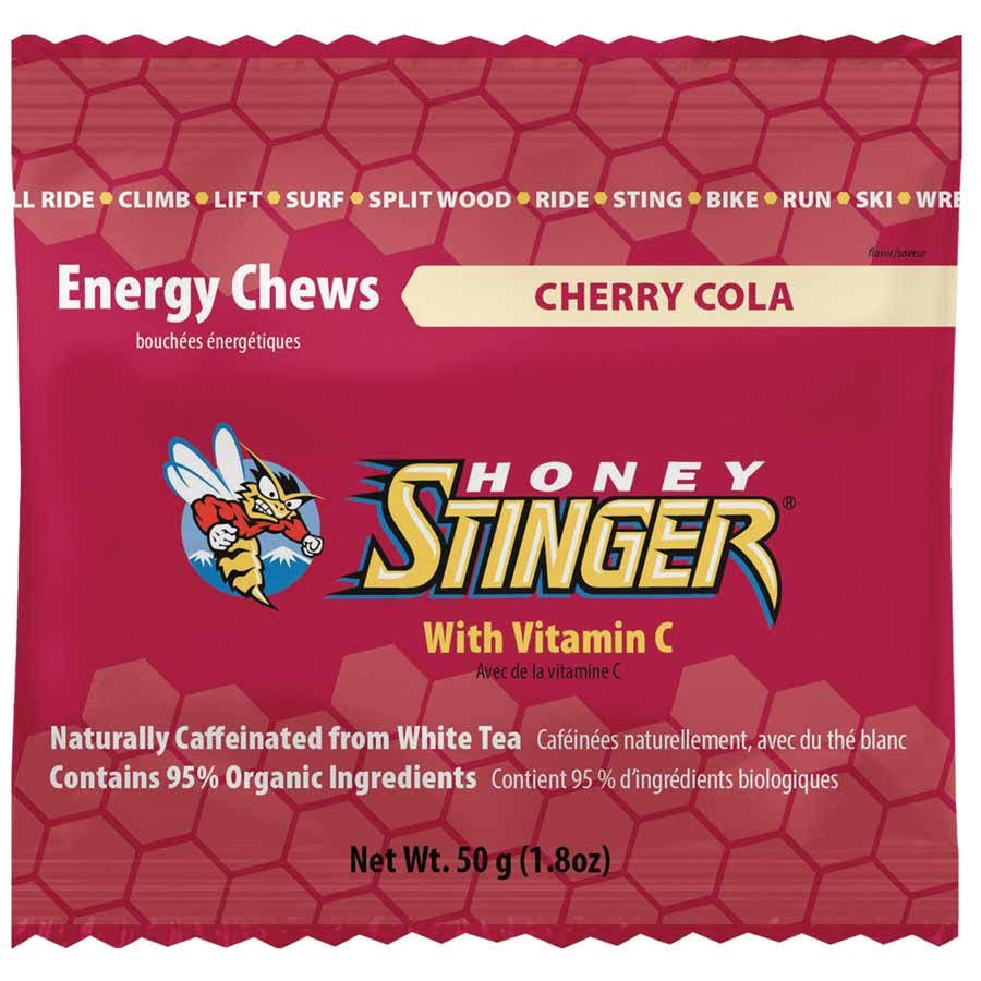 Honey Stinger Organic Energy Chews - Pomegranate Passion