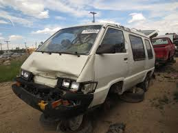 Junkyard Find 1987 Toyota Conversion Van