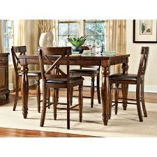 Clearance Raisin 5 Piece Counter Height Dining Set