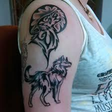 Tribal Wolf Tattoo Hawaiiantattoossleeve