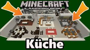 minecraft küche einrichtung deko designs gegenstände