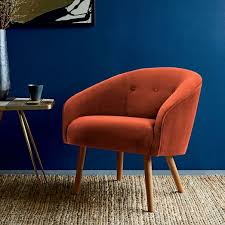 West Elm Everett Chair Leather by West Elm Eve Buttoned Chair Fun Colors 299 Furniture