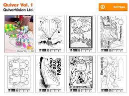 Quiver Volume 1 Augmented Reality Coloring Pages Quivervision