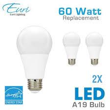 led a19 light bulb 60 watt equal euri ea19 2001e 2 2021e 2