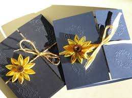 Cheap Sunflower Wedding Invitations Best 25 Ideas Rustic