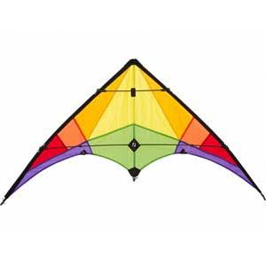 HQ Kites Eco Line Stunt Kite - Rookie, Rainbow