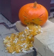 Vomiting Pumpkin Dip by 25 Pumpkins Vomiting Holytaco