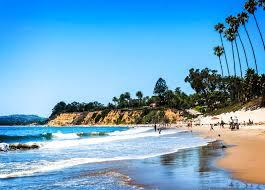 100 Santa Barbara Butterfly Beach Postcard