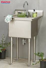 Stainless Steel Utility Sink by 27