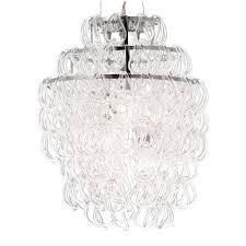 Home Depot Ceiling Lamp Shades by Zuo Cascade Chrome Ceiling Lamp 50030 The Home Depot