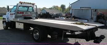 1996 Chevrolet Kodiak Flatbed Tow Truck | Item E5609 | SOLD!...