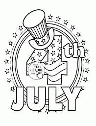 4th Of July Coloring Pages Disney