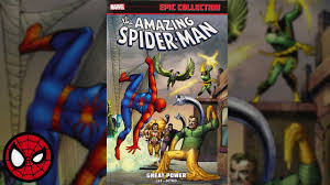 Amazing Spider Man Epic Collection Great Power