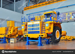 100 Large Dump Trucks Mining Truck Manufacturing Plant Workshop Assembly