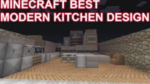 Minecraft Xbox 360 Living Room Designs by Minecraft Modern Kitchen Tutorial Design Xbox 360 Youtube