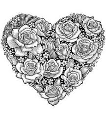 Amazingly Exquisite Free Printable Coloring Pages Of Flowers For AdultsPrintable