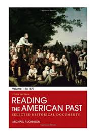 100 Michael P Johnson Reading The American Ast DF Volume I By