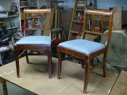 Lyre Back Chairs Antique by Frontier Furniture Repair And Restoration Pair Of Duncan Phyfe