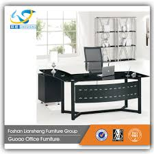 Tempered Glass Computer Desk by Glass Computer Table Design Glass Computer Table Design Suppliers