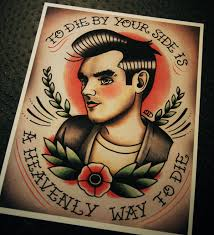 Loose Lips Sink Ships Tattoo by Morrissey Tattoo Flash Print 22 00 Via Etsy And Suddenly My