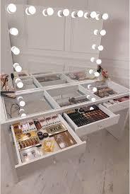 bedrooms bedroom vanity with lighted mirror mirror desk vanity