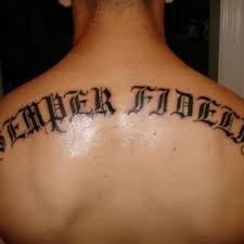 Best Upper Back Word Tattoos