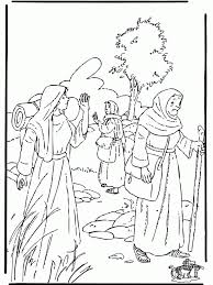 Backgrounds Coloring Ruth And Boaz Pages For