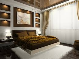 Bedroom Exquisite Small Amazing Room Ideas For A White Curtain Rectangular Painting Dazzling Recessed Lamp As Well Cozy