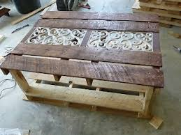 Pallet Coffee Table Outdoor Furniture Painted