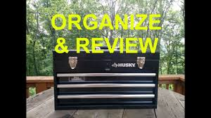 100 Husky Truck Tool Box Review HUSKY 3 DRAWER PORTABLE TOOLBOX ORGANIZATION AND REVIEW YouTube