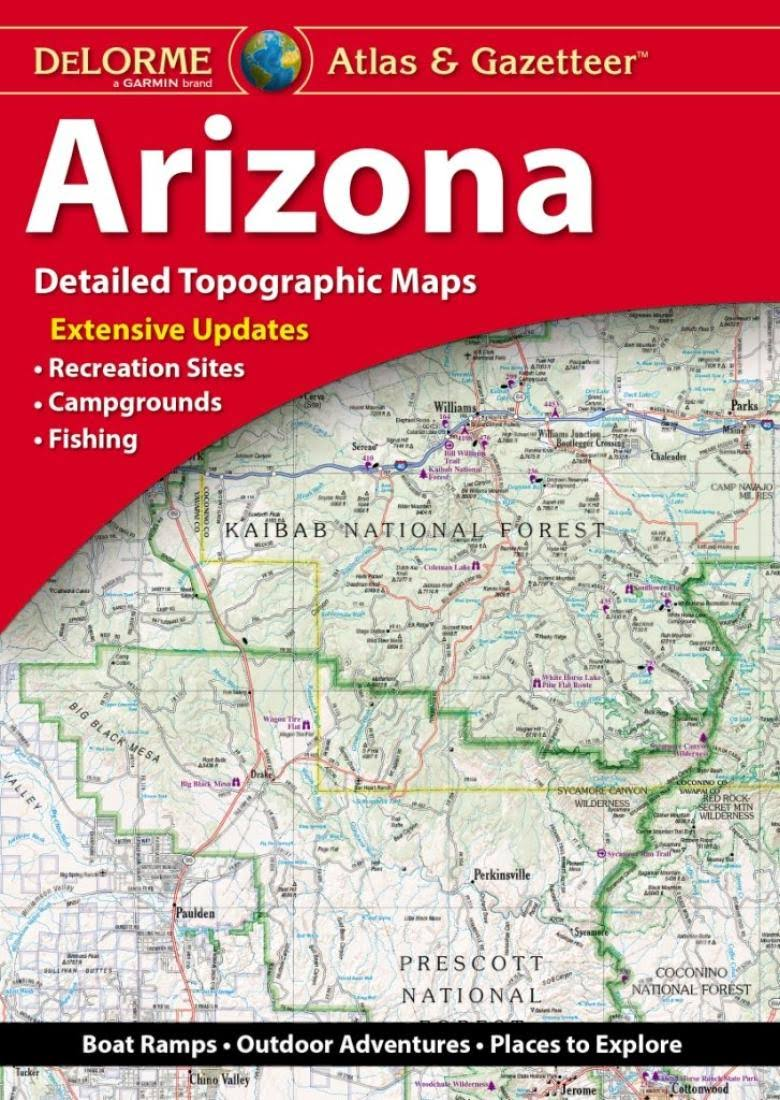 Arizona Atlas and Gazetteer [Book]