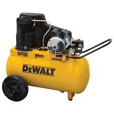 DEWALT 20 Gal Portable Horizontal Electric Air pressor