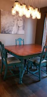 DIY Chalk Paint Blue Dining Room Table Chairs In 2019 | Diy ... Table Kitchen With Leaf Luxury 37 Top Ding Painted And Chairs Gouglericom Chairs Table Makeover With Annie Sloan Chalk Charcoaley Tables And Car Paint Extravagant Staing Pating Used Room Elegant White Color Ideas Appliances Tips Vintage Set A Transformation Fusion Mineral How To Transform A Bluesky Fniture Before After Inviting Diy