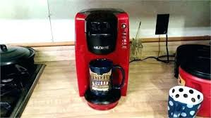 Mr Coffee Keurig Walmart Vs I Have The Red 6 Or Ounce All Of A Sudden Mini Maker K15