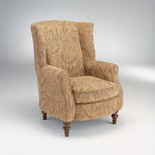 Chair Slip Cover Pattern by Custom Wing Chair Slipcover