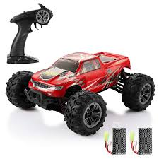 100 Radio For Trucks HELIFAR RC 116 4WD RC Cars 24G Remote Control Car For Kids Controlled Cars Remote Control Monster Trunk OffRoad Car 36kmh High Speed