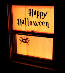 Diy Halloween Pathway Lights by The 33 Best Halloween Window Decorations For 2017