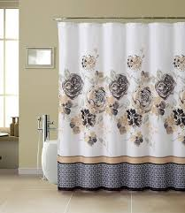 Tahari Home Curtains Yellow by Tan And Grey Shower Curtain Ideas For Bathroom Best Curtains