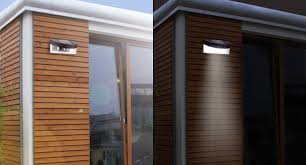 pack of solar led wall lights