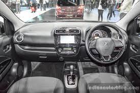 2016 Mitsubishi Mirage interior dashboard at 2016 Bangkok