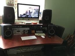 Omnirax Presto 4 Studio Desk Black Dimensions by Studio Trends 30 Desk