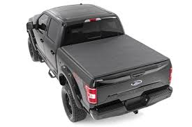100 F 150 Truck Bed Cover Rough Country 44515550 Soft Triold Tonneau 55foot