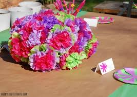 Diy Party Decorations With Kids5 Paper Plate Flower