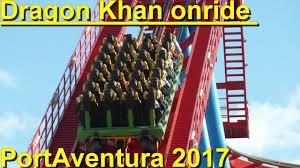 khan port aventura khan onride hd portaventura 2017 khan port