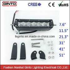 China Favourable Price Single Row LED Off-Road Light Bars For Truck ...