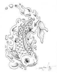 Koi Fish Coloring Pages To Print