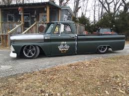 1965 Chevy C-10 Rat Rod Low Rider Air Ride Shop Truck