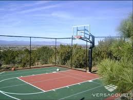terrain de basket exterieur terrain de basketball pour particulier terrains de sports